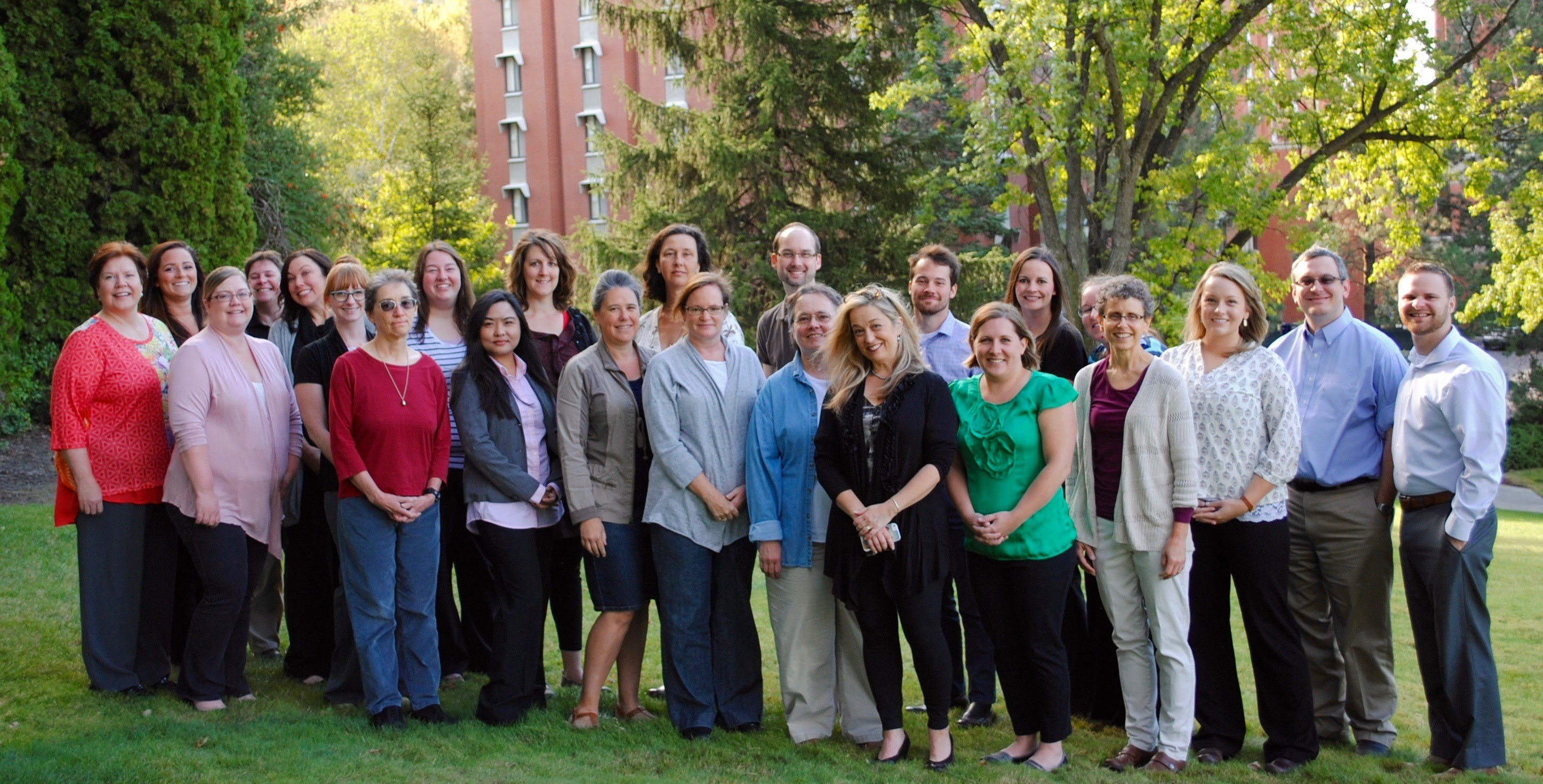 Counseling and Psychological Services staff group image
