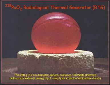Glowing Plutonium