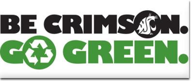 Be Crimson Go Green