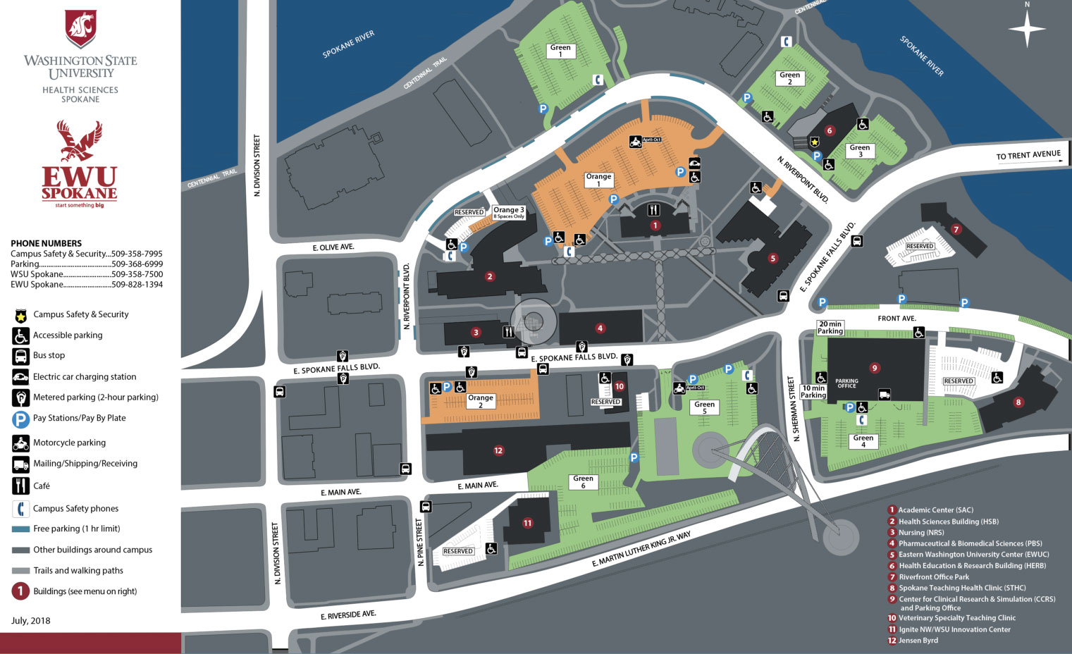 Campus Map | Facilities Services | Washington State University
