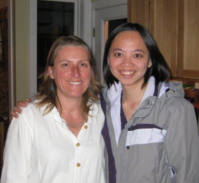 Carolyn Joswig-Jones and ChiChi Peng