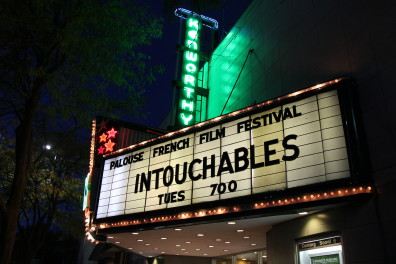 Palouse French Film Festival marquee Intouchables