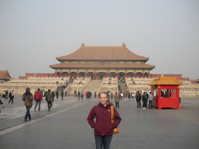 Breigenzer at the Forbidden City