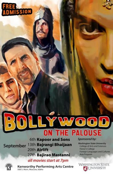 Bollywood Film Festival flyer