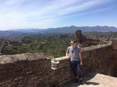 Erik in China
