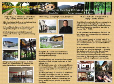 Dr. Lui's Remembering Earth?!: Rural Dwellings and Healing Retreats poster
