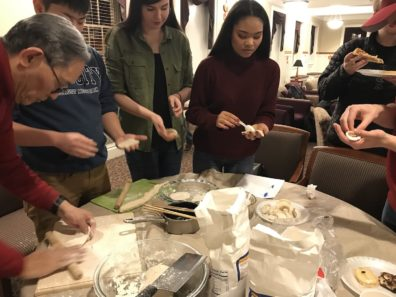Students and Professors Celebrate Chinese New Year