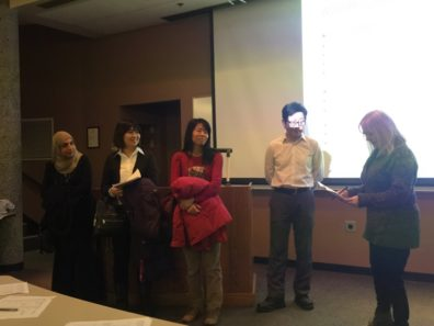 Faculty and Staff Present Asian Culture to Asia 301