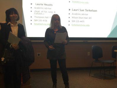 Laurie Heustis Explains Asian Language Options Offered Through DFLC