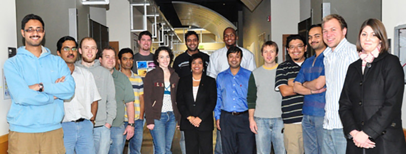 Members of the W. M. Keck Biomedical Materials Research Lab.