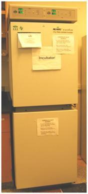 NuAIR 8700 Dual chamber CO2 Incubator