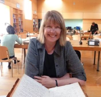 Sue Peabody conducts research in the historical archives on the island of Réunion