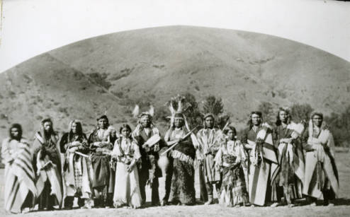 Nez Perce. Courtesy of WSU Libraries, MASC.