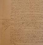 Furcy manuscript