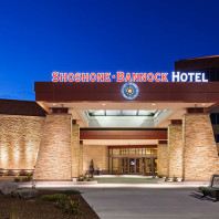 Shoshone-Bannock Hotel, the field school headquarters for week 3, Fort Hall, ID.