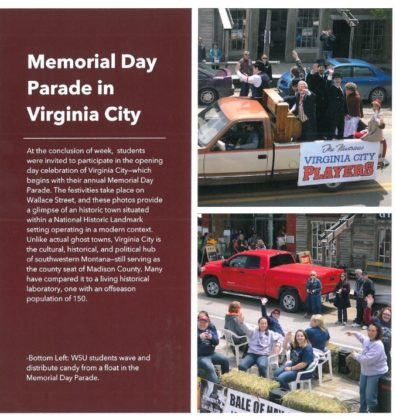 Memorial Day parade in Virginia City
