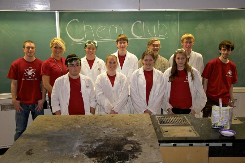 Chemistry club photo