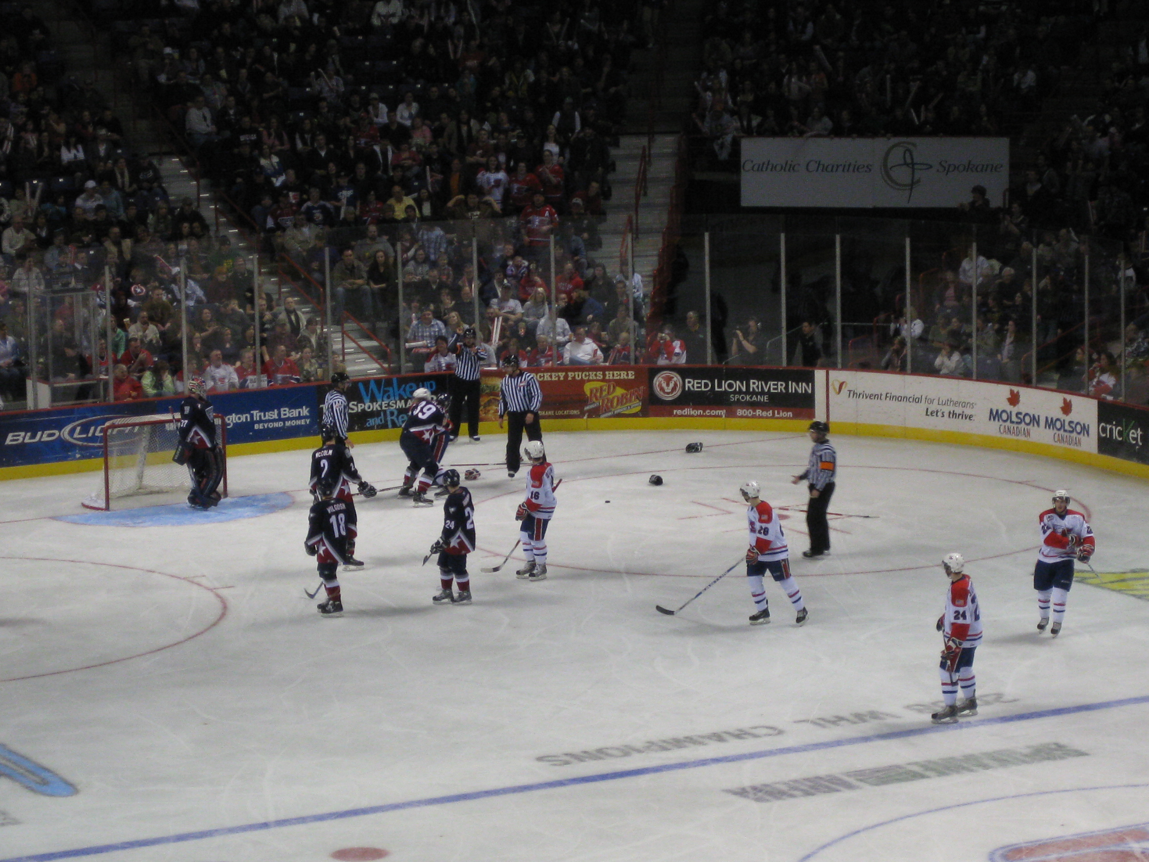 Spokane Chiefs Game