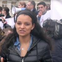 Student reporter in Georgia