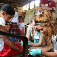 WSU students test iron blood levels