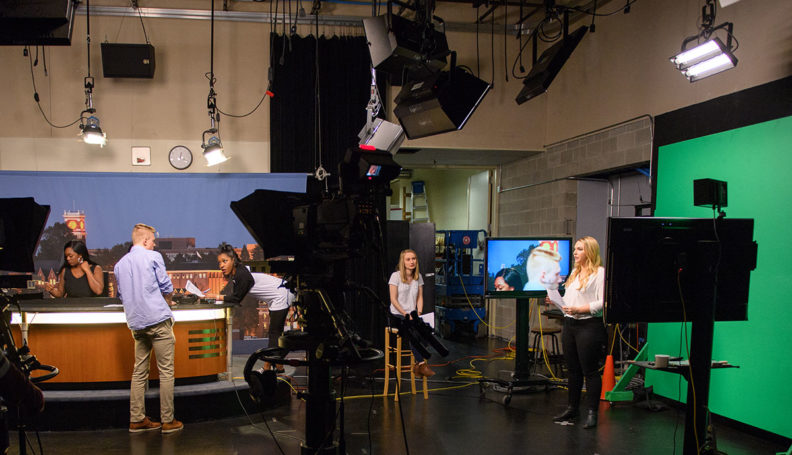 Murrow News 8 studio