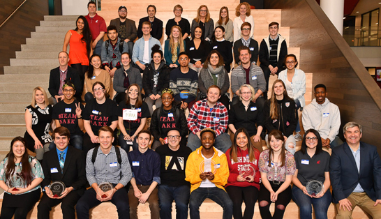 Group Shot at Creative Jam WSU Pullman