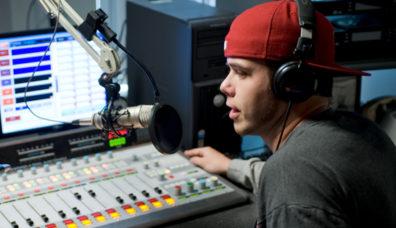 Student on Radio