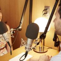 Photo of StoryCorp Radio Interview