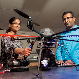 Using drones to solve agriculture problems.