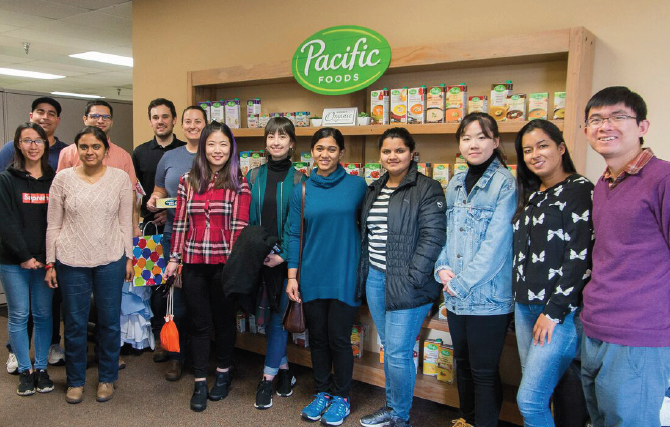 Food Engineering Club at Pacific Foods