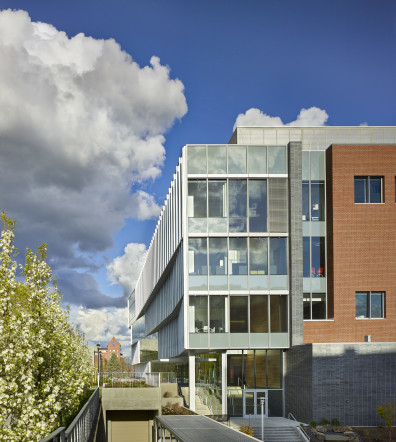 WSU Spokane Building outside view