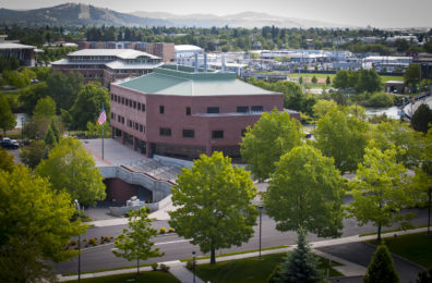 Spokane Health Education and Research (SHER) from the outside