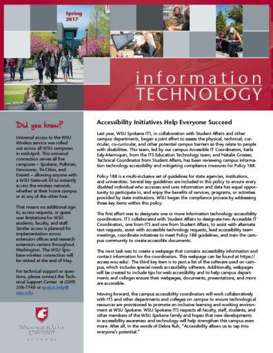 information technology newsletter