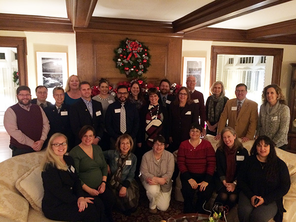 Kirk and Noel Schulz with APAC at December reception