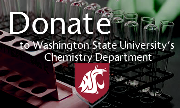 Donate to Washington State's University's Chemistry Department Here