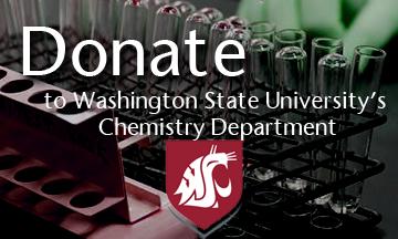 Donate to Washington State's University's Chemistry Department Here