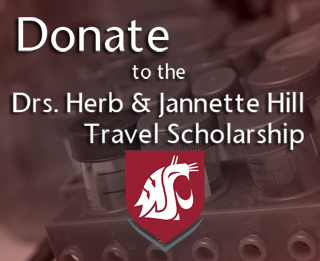 Donate to Drs. Herb & Jannette Hill Travel Scholarship