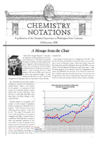 First page of Newsletter 2008
