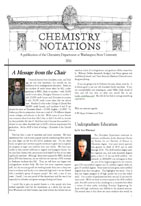 Page 1 of Newsletter for 2011
