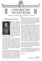 Page 1 of Newsletter for 2014