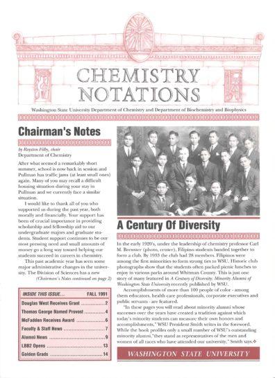 1991 Fall Newsletter