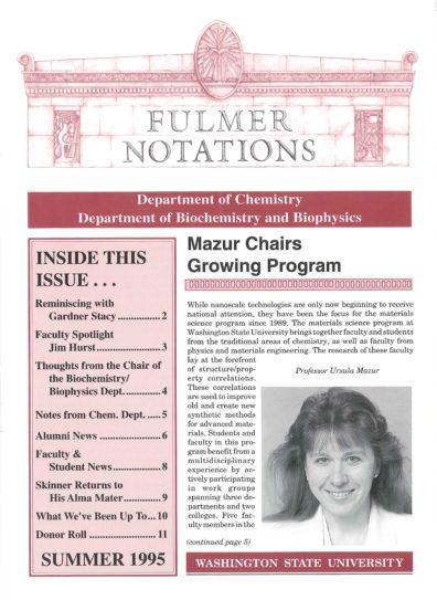 1995 Summer Newsletter