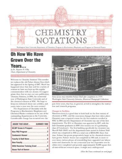 1990 Newsletter