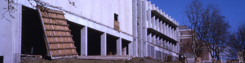 Cleveland Hall construction