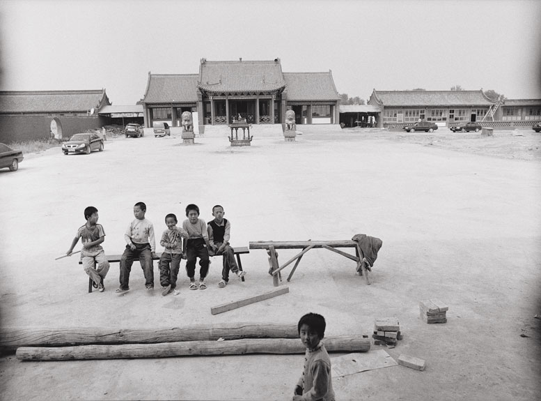 The actors often perform to an empty theater. This day Yang found only a small group of boys in attendance. More Often, he saw just a few of the village's older residents who came to recall the past.