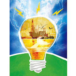 Image depicting a light bulb sparking ideas and therefore solutions.