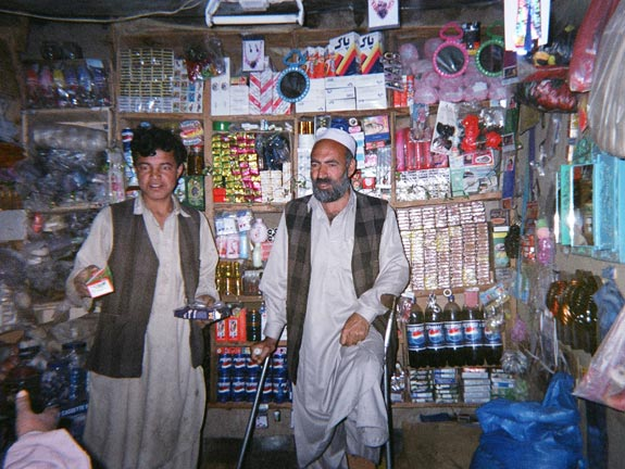Merchants photo captured by citizens of Afghan province of Laghman.