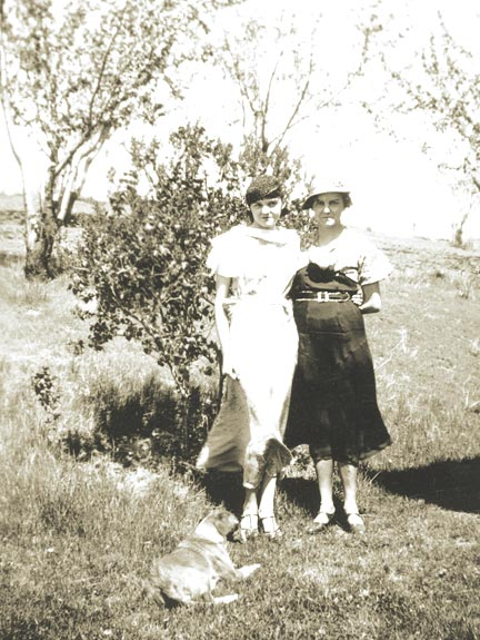 Xerpha with her daughter Mae.