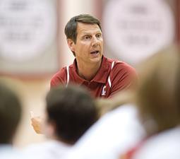 WSU men's basketball coach Ken Bone. Bob Hubner
