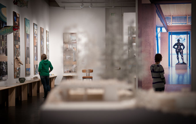 Architect Jim Olson's work featured at the WSU Museum of Art